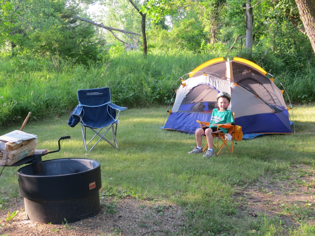 Camping at Camden State Park on the hunt for the Cerulean Warbler