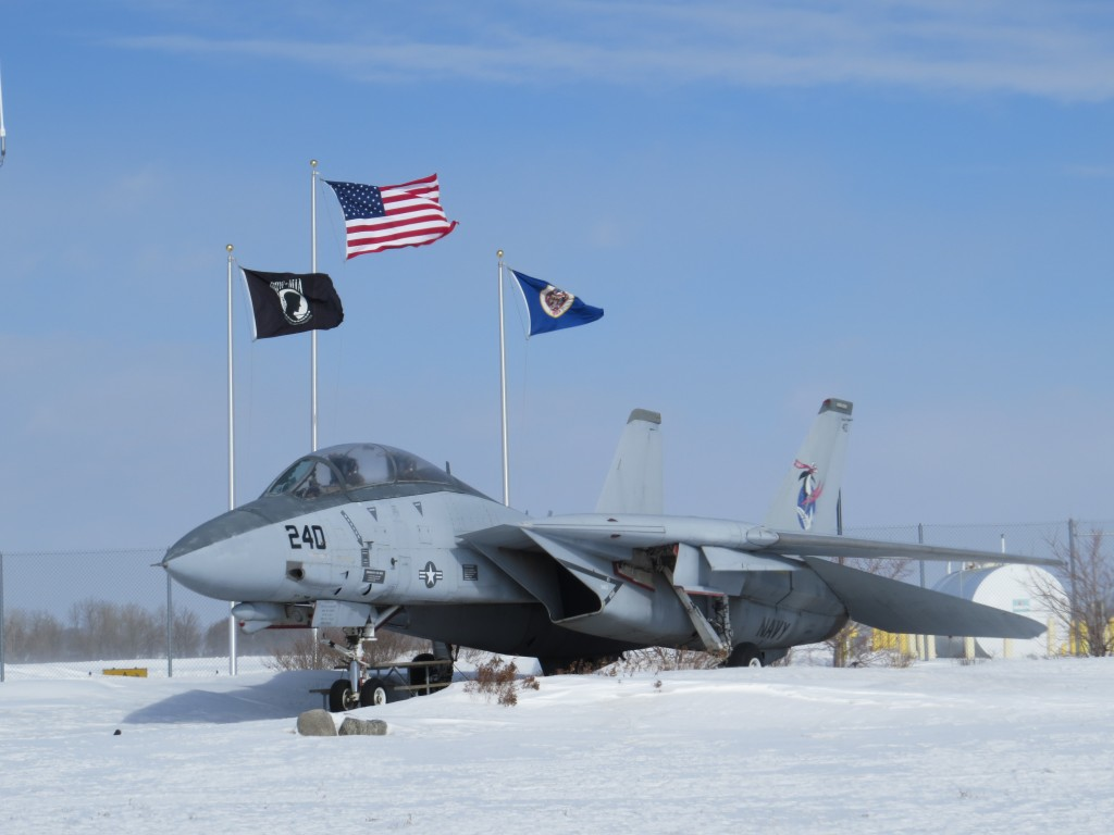U.S. Navy F-15 at Willmar Municipal Airport