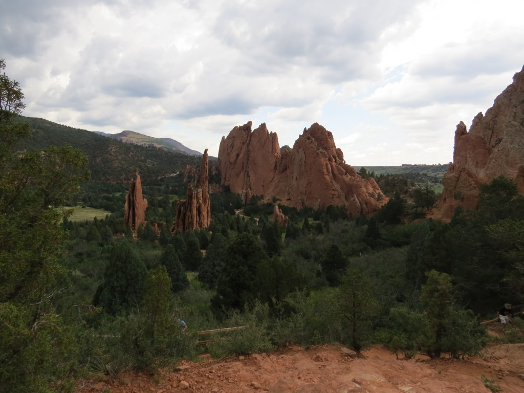 Central Garden at Garden of the Gods