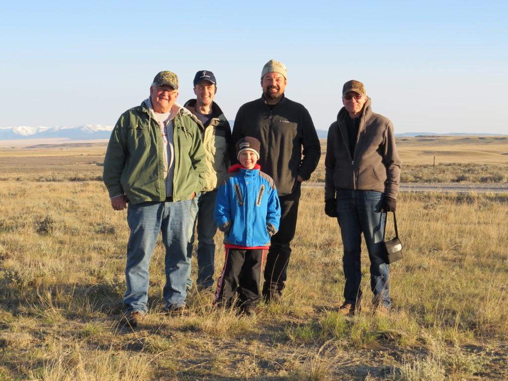 L-R: Dad, Me, Evan, John Carlson, Charlie Eustace