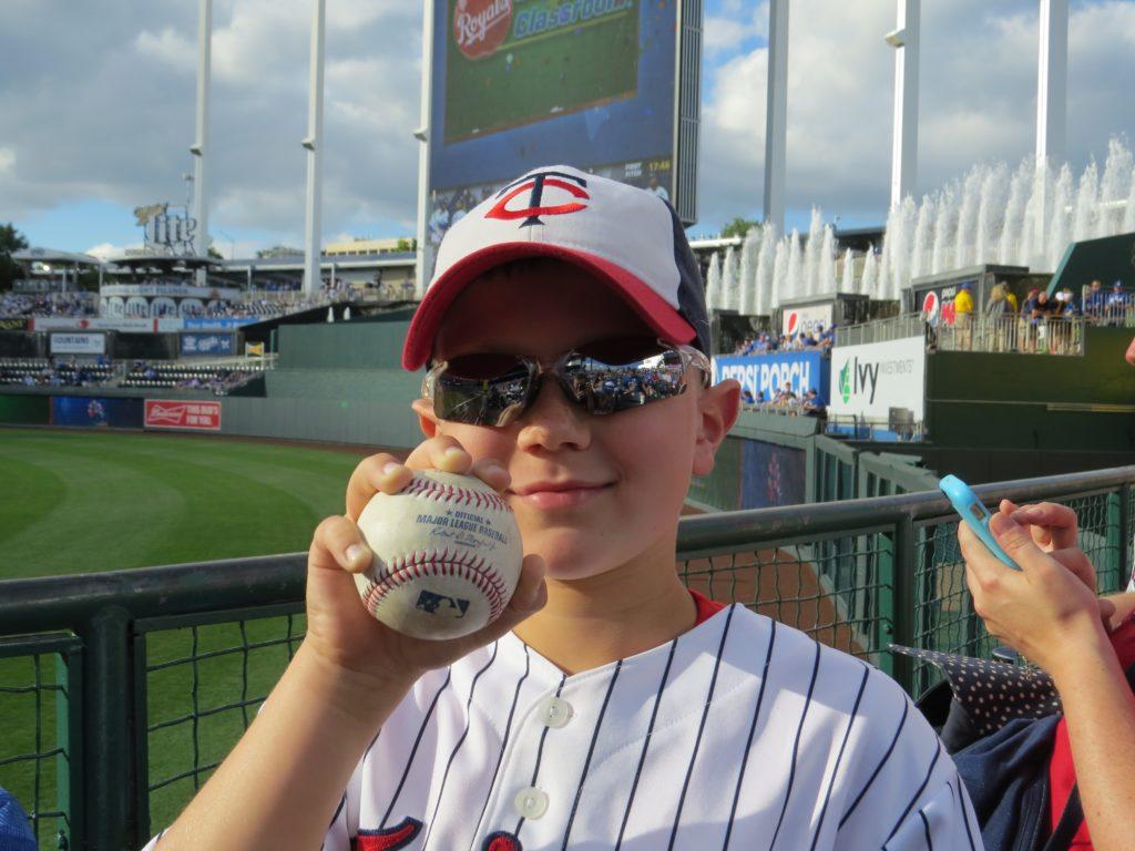 Evan baseball
