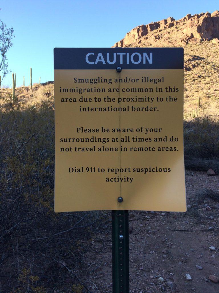 smuggle sign